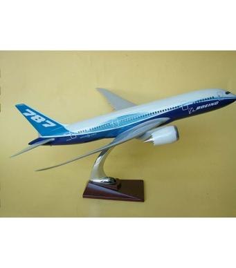 Diecast Metal Resin Plane Model - Boeing 787