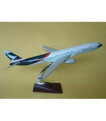 Diecast Metal Resin Plane Model - Cathay  100th Aircraft
