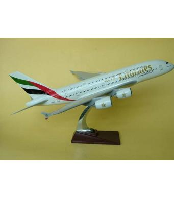 Diecast Metal Resin Plane Model - Emirates