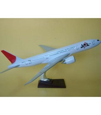 Diecast Metal Resin Plane Model - Japan Airways