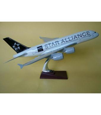 Diecast Metal Resin Plane Model - Star Alliance