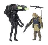 Star Wars Rogue One Imperial Death Trooper & Rebel Commando Pao