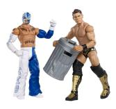 Mattel WWE Battle Pack Rey Mysterio vs The Miz