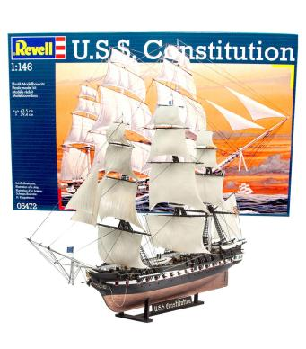 Revell Model Kit USS Constitution