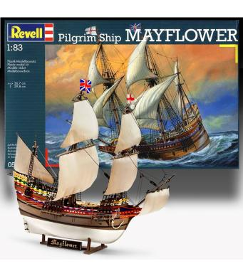 Revell Model Kit Pilgrim Ship Mayflower