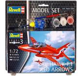 Revell Model Set BAe Hawk T 1 Red A