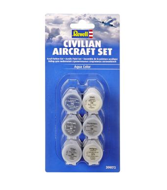 Revell Civilian Aircraft Colour Set