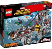 Lego 76057 Spiderman Web Warriors Ultimate Bridge Battle