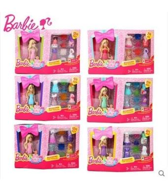 Barbie Birthday Series Doll Set - Mini Barbie Doll with Accessory