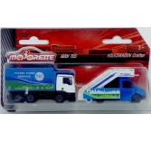 Majorette Airport Series - MAN TBS and Volkswagen Crafter