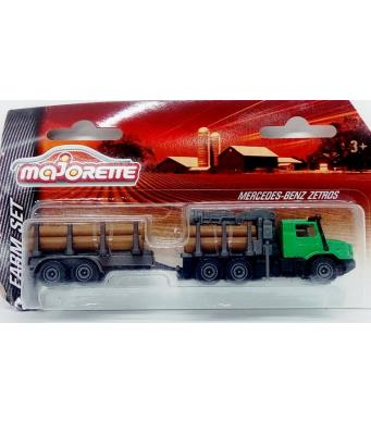 Majorette Farm Set Mercedes Benz Zetros
