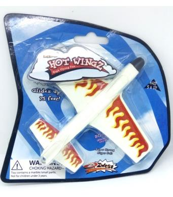 Hand Launch Flying Plane - Mini Hot Wingz