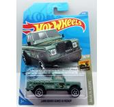 Hot Wheels Land Rover Series III Pickup