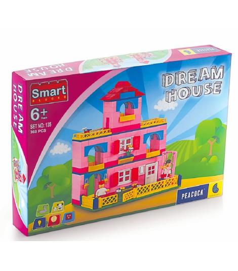 Peacock Smart Building Blocks Dream House