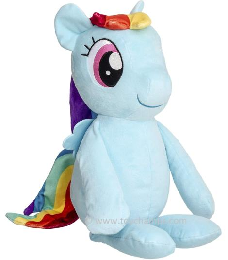 Rainbow Dash Plush Toy - My Little Pony Friendship Magic Soft Toy, 40 cms