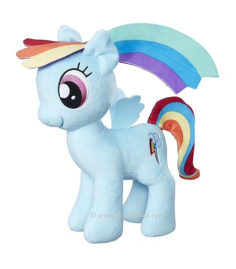 Rainbow Dash Plush Toy - My Little Pony Friendship Magic Soft Toy, 24 cms