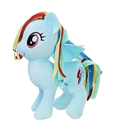 Rainbow Dash Plush Toy - My Little Pony Friendship Magic Soft Toy, 14 cms