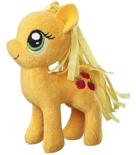 Applejack Plush Toy - My Little Pony Friendship Magic Soft Toy, 14 cms