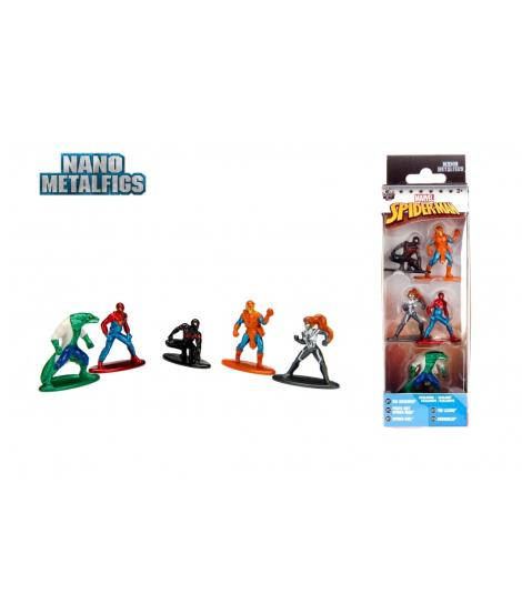 Jada Nano Metalfigs Marvel Spider-Man Die-cast Figures
