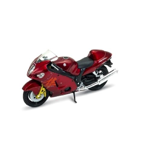 Welly Suzuki Hayabusa Bike 1:18 Die-Cast Model
