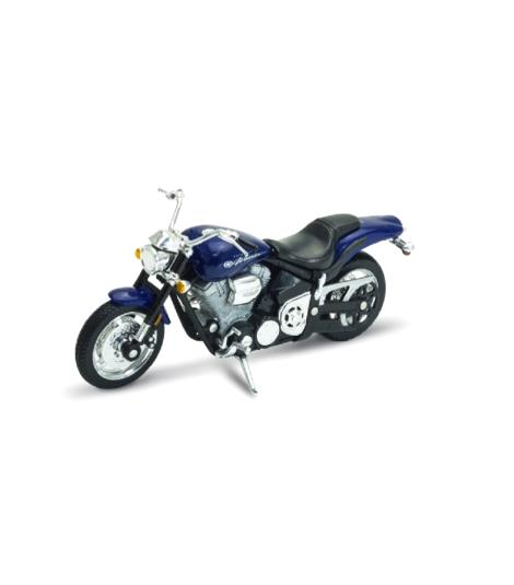 Welly 02 Yamaha Road Star Warrior Bike 1:18 Die-Cast Model
