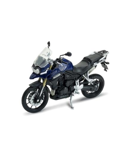 Welly Triumph Tiger Explorer Bike 1:18 Die-Cast Model