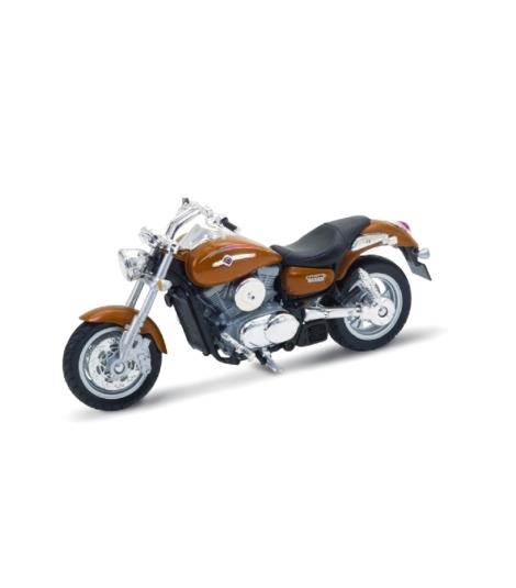 Welly Kawasaki Vulcan 1500 Mean Streak Bike 1:18 Die-Cast Model