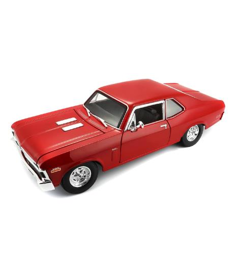 Maisto 1970 Chevrolet Nova SS 1:18 Die-cast Scale Model