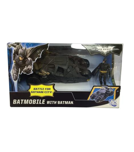 Batmobile with Batman - Batman Dark Knight Rises Exclusive Vehicle