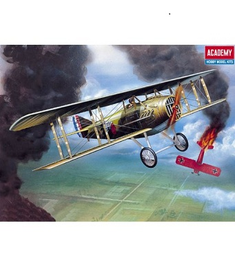 Academy Model Kit - Spad XIII WWI Fighter