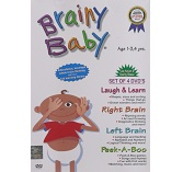 Brainy Baby - Vol. 1 (Set of 4 DVD's)
