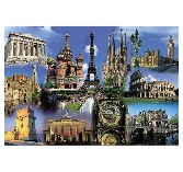 Educa Jigsaw Puzzle - Europe Collage - 2000 Pieces