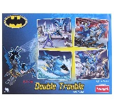Funskool Batman 4-in-1 Puzzle (Double Trouble)