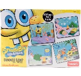 Funskool Sponge Bob 4-in-1 Puzzle (Summer Camp)