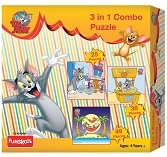 Funskool Tom and Jerry 3-in-1 Combo Puzzle