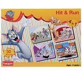 Funskool Tom and Jerry 4 in 1 Puzzles (Hit and Run)