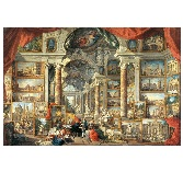 Educa Jigsaw Puzzle - Gallery With Views of Modern Rome - 5000 Pieces