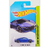 Hot Wheels 12 Acura NSX Concept