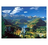 Educa Jigsaw Puzzle - Neuschwanstein and Surrounding - 5000 Pieces
