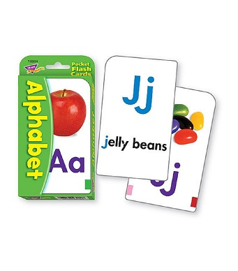 Pocket Flash Cards - Alphabet