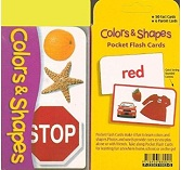 Pocket flash Cards - Colors & Shapes