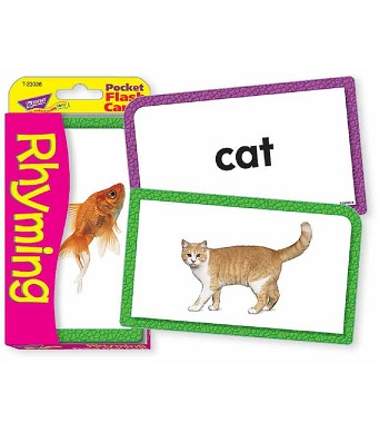 Pocket Flash Cards - Rhyming