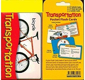 Pocket flash Cards - Transportation