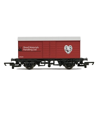 Hornby R6474 Rail Road Box Van - LWB