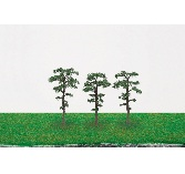Hornby R8926 Scots Pine Trees 75mm x3