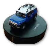 Kidztech Mini Remote Control Car: Toyota FJ Cruiser