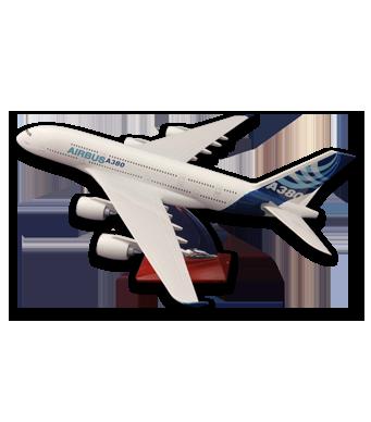 Diecast Metal Resin Plane Model - Airbus A380