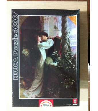 Educa Jigsaw Puzzle - Romeo and Juliet - 3000 pieces