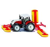Siku 1672 - Steyr with Pottinger Mower Combination