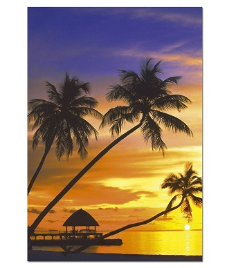 Educa Jigsaw Puzzle - Sunset in the Maldives - 1000 pieces